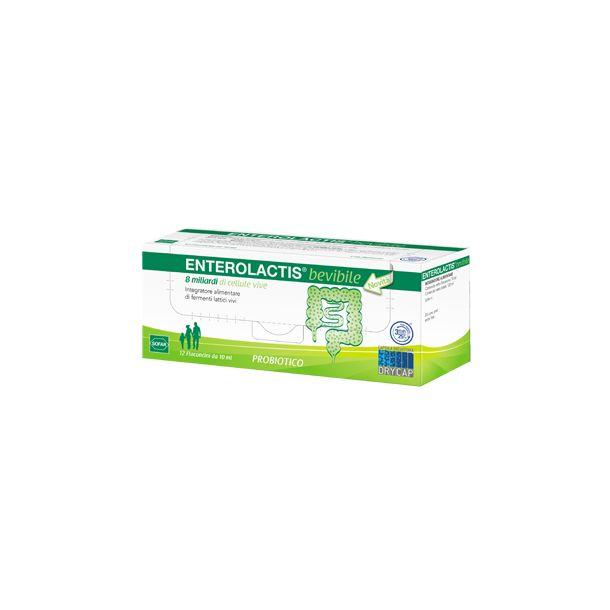 Enterolactis Bevibile 12 Flaconcini 10ml