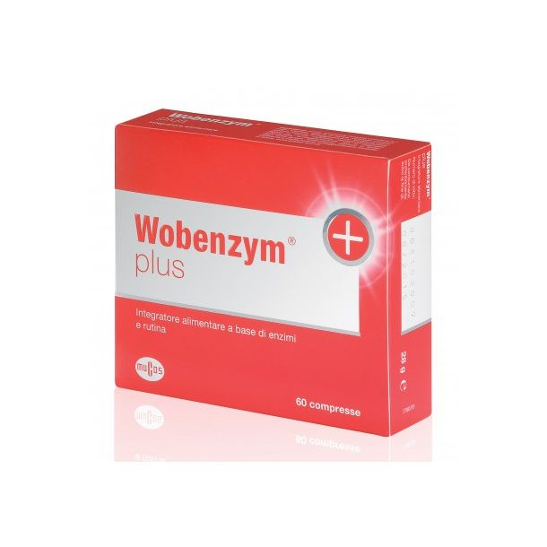 WOBENZYM PLUS 60CPR