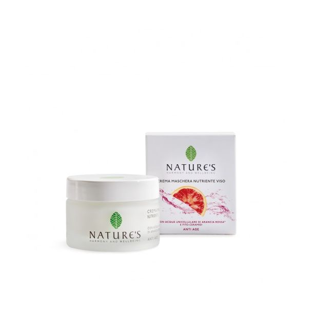 Acque Unicellulari Crema Maschera Nutriente Viso 50 ml