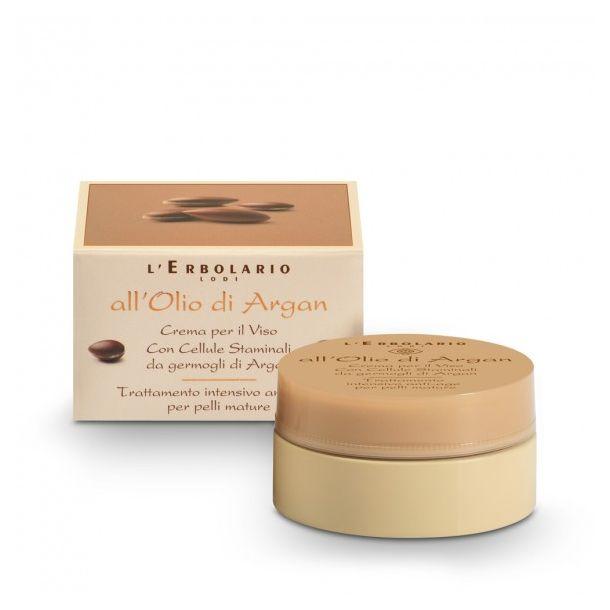 All' Olio di Argan Crema per il viso – Trattamento intensivo anti-age per pelli mature 50 ml