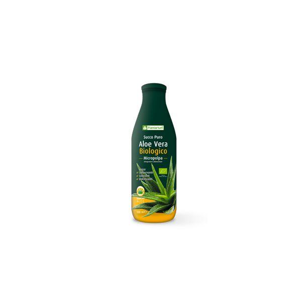 Aloe Vera micropolpa biologico Plantarium (1000 ml)
