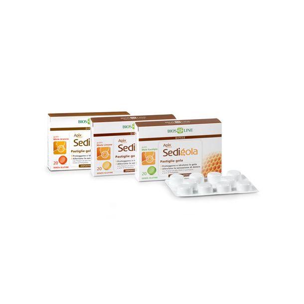 APIX Sedigola Pastiglie Gola (gusto miele arancia)