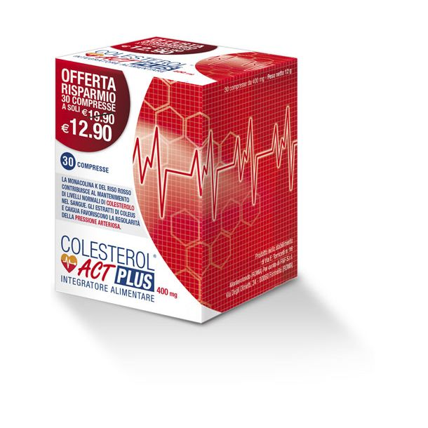 COLESTEROL ACT PLUS 400 mg (30 compresse)