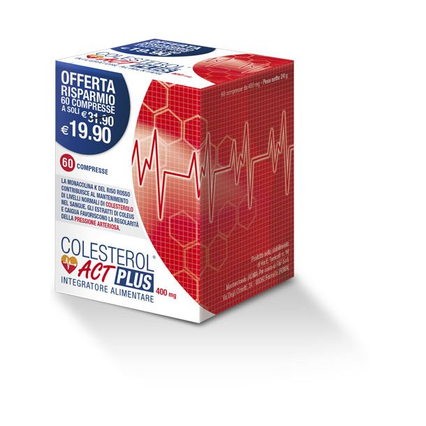 COLESTEROL ACT PLUS 400 mg (60 compresse)