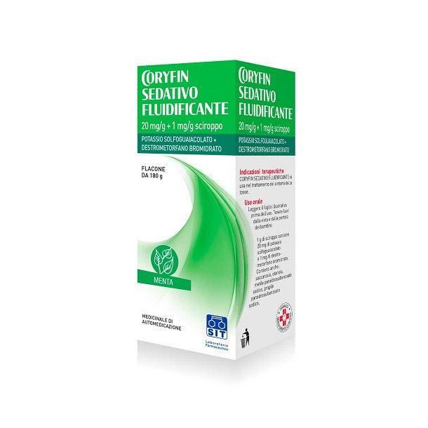 Coryfin Sedativo Fluidificante Sciroppo 180g