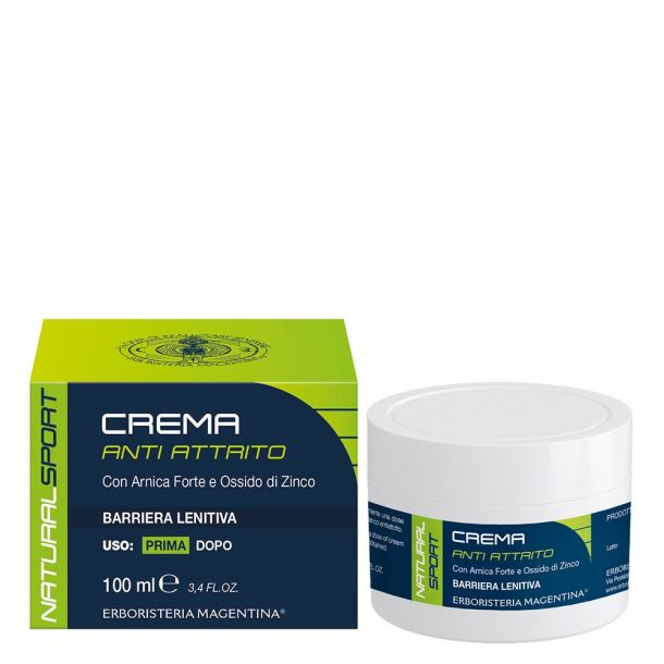 Crema Anti-Attrito Natural Sport
