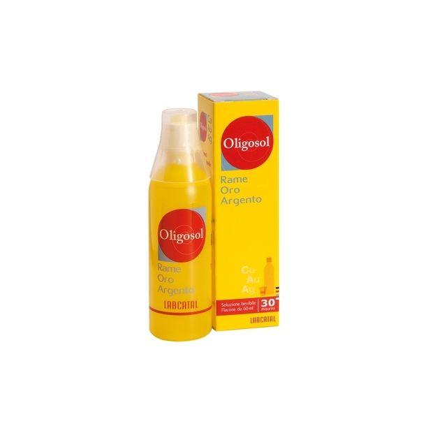 LABCATAL OLIGOSOL Rame - Oro - Argento (soluzione bevibile)