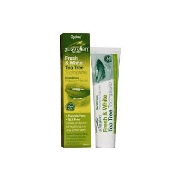 Optima Naturals Australian Tea Tree Dentifricio