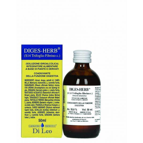 Diges Herb (S14 Tifoglio Fibrino composto) Di Leo