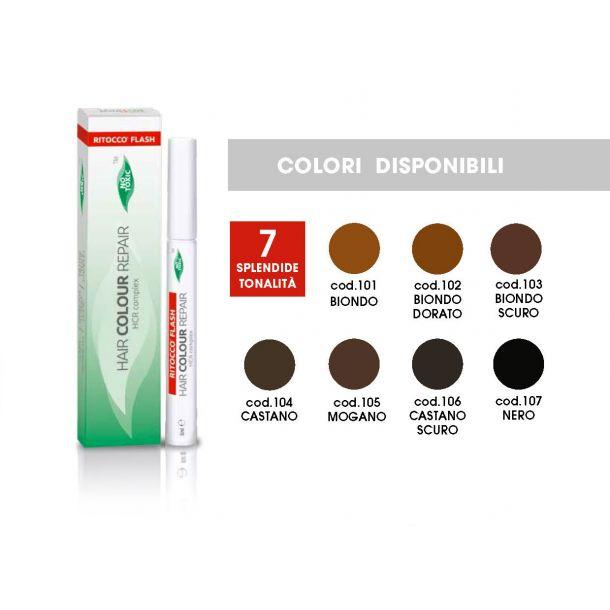 Hair colour repair tonalità nero (cod.07)