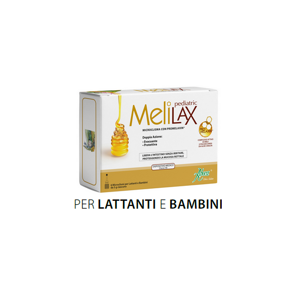 Melilax Pediatric (Microclisma con Promelaxin ®)