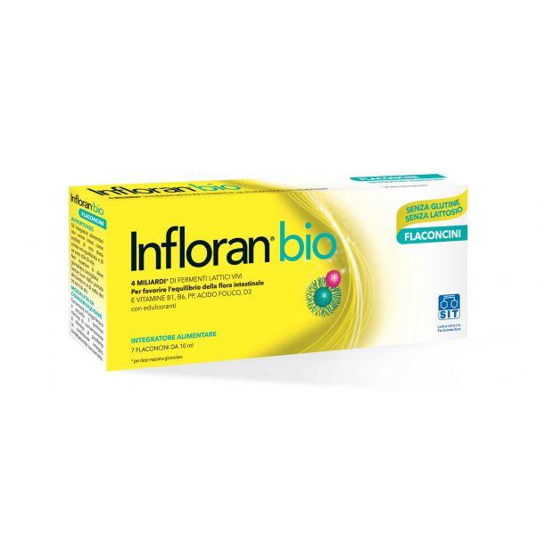 Infloran Bio adulti (14 flaconi)