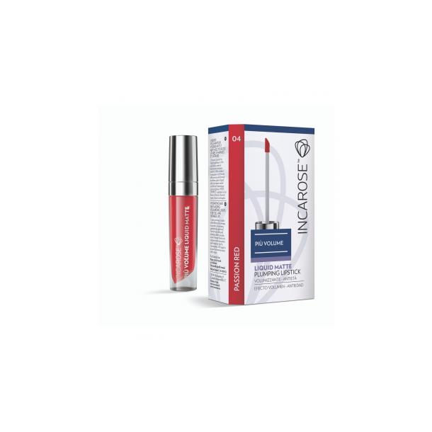 Più Volume Liquid Matte Plumping Lipstick 04 (passion-red)