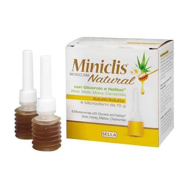 Miniclis Natural Adulti 6 Pezzi