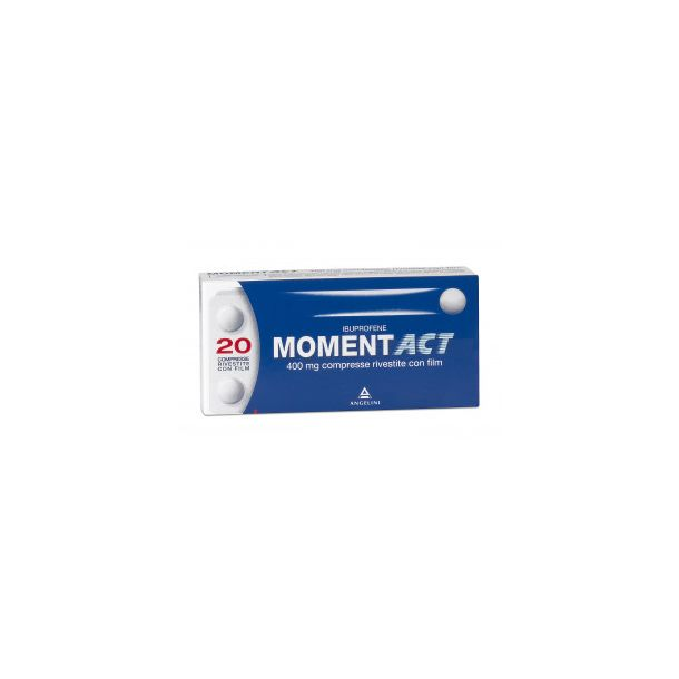 MOMENTACT 20 Compresse Rivestite 400MG