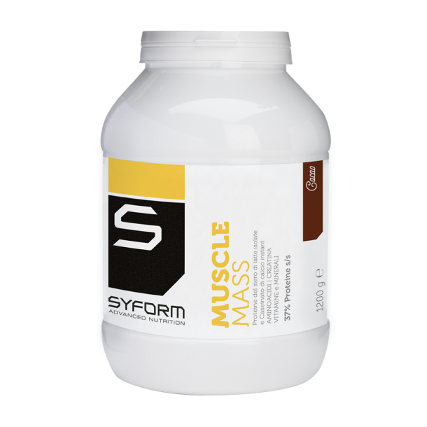 MUSCLE MASS (gusto cacao:1200 g)