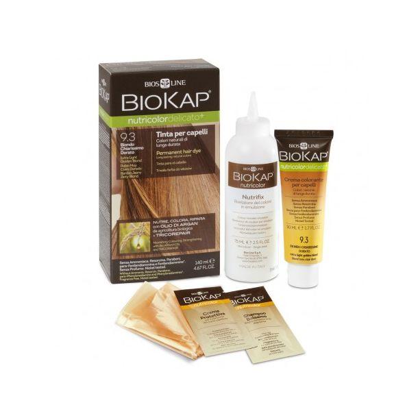 BioKap Nutricolor Tinta Delicato (codice colore: 9.3 biondo chiarissimo dorato)