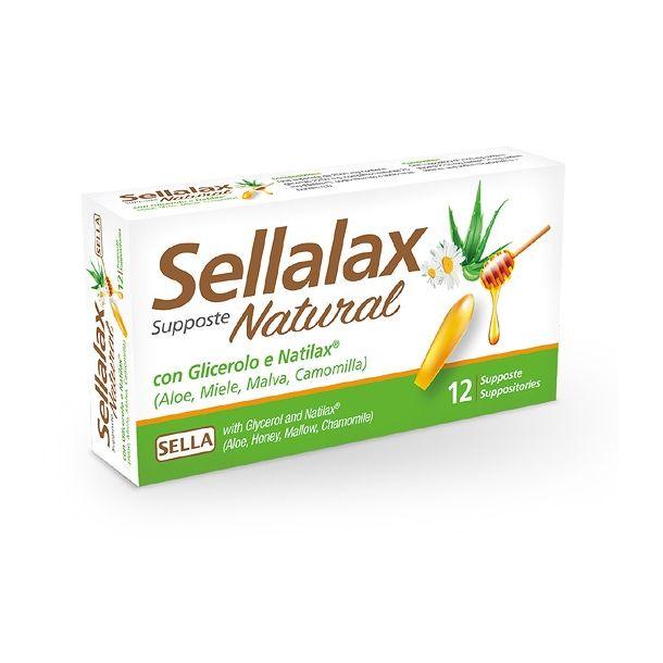 Sellalax Natural MD 12 supposte