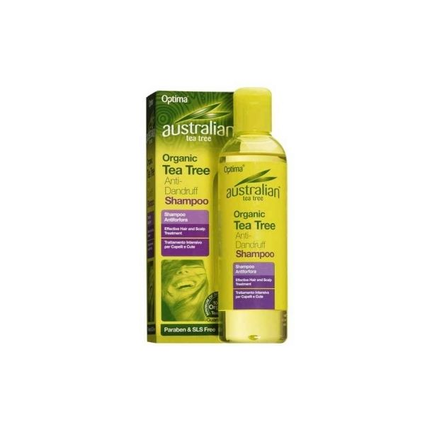 Optima Naturals Australian Tea Tree Shampoo Antiforfora