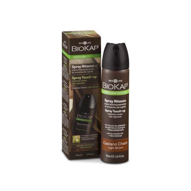 Biokap Spray Ritocco (colore castano scuro)