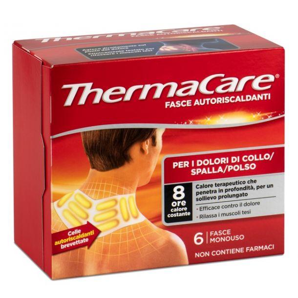 ThermaCare fasce autoriscaldanti per i dolori di collo/spalla/polso (6 fasce)