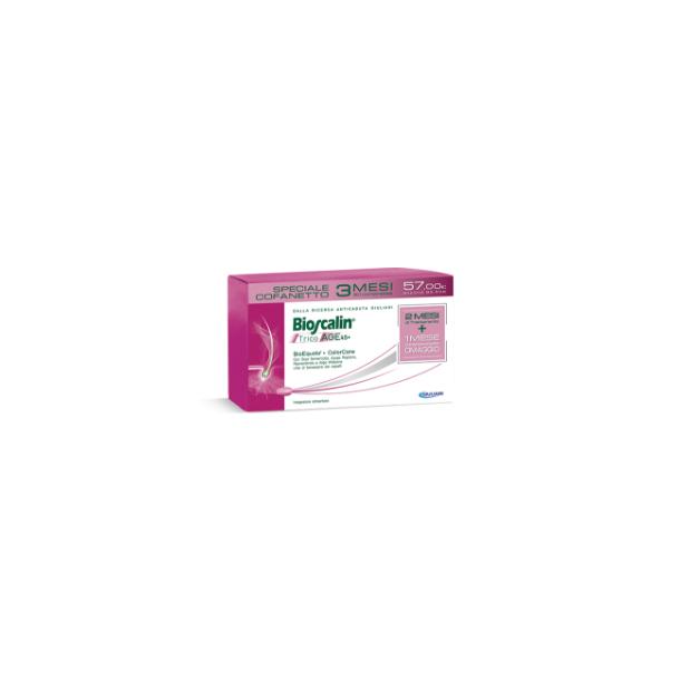 Bioscalin TricoAge 45+ 90 compresse Trattamento 3 mesi Promo 2019