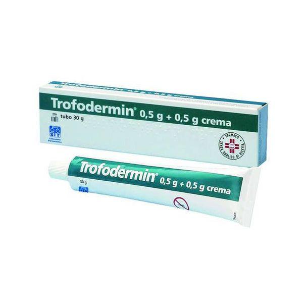 Trofodermin Crema dermatologica 5%+5% 30gr