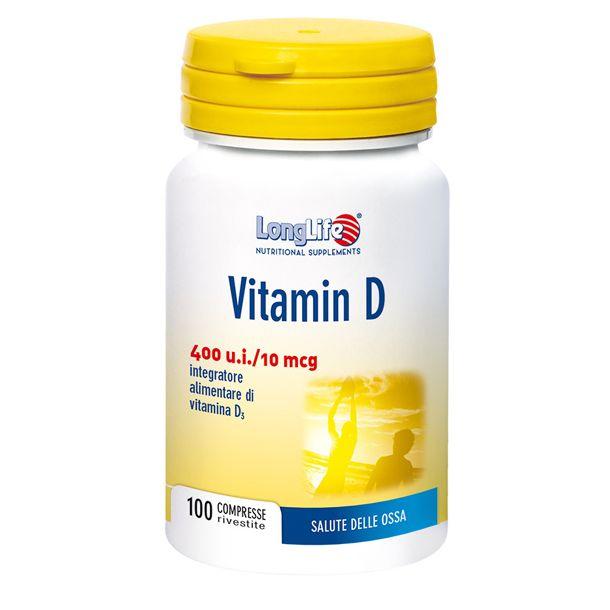 Longlife vitamin D 400 u.i.
