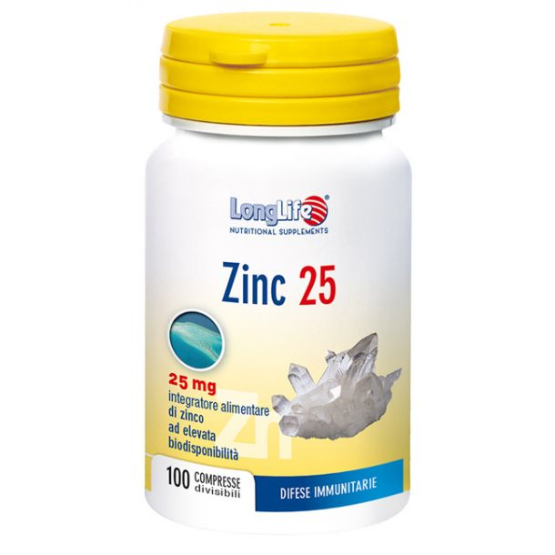 Longlife Zinc 25mg